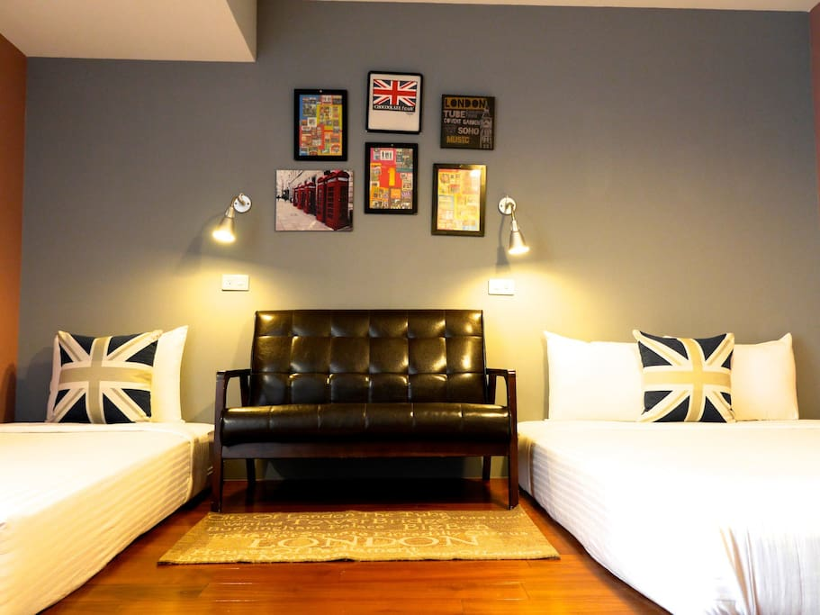 Deluxe 3 people room RM501