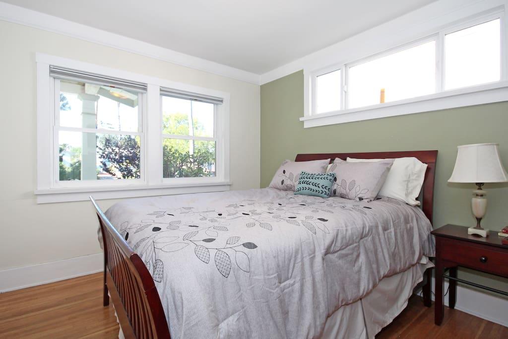 the Cherry room enjoy a pillow top mattress