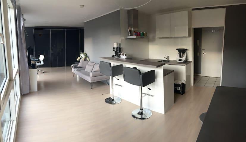 Modernes Loft im Herzen Düsseldorfs - Düsseldorf - Departamento