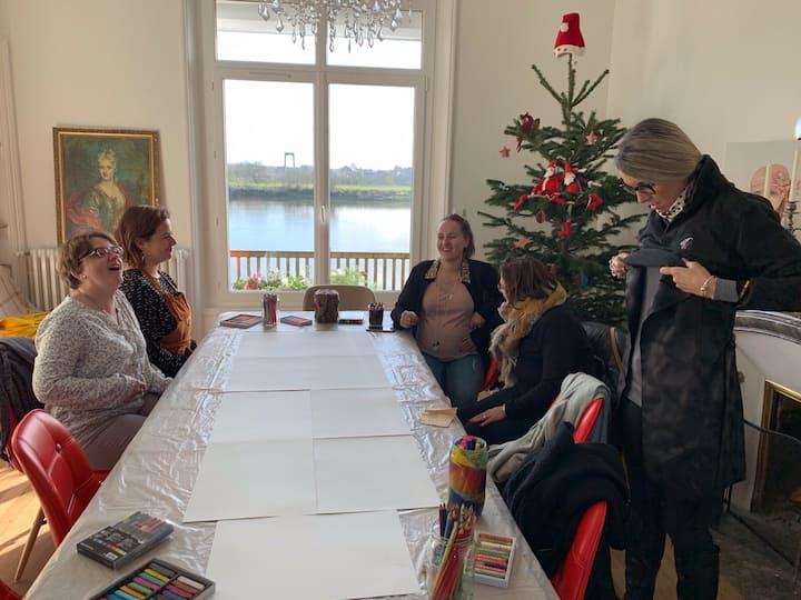 Villa des Arts idéal séminaire, réunion de travail