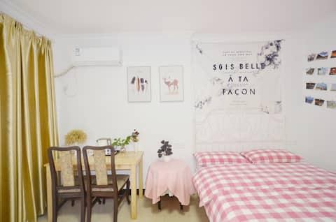 【Traveler's home •夏至】每日消毒+送口罩,王家湾双地铁/汉阳人信汇高性价比独立房间