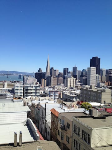 Master Suite with Private Bathroom - San Francisco - Appartement