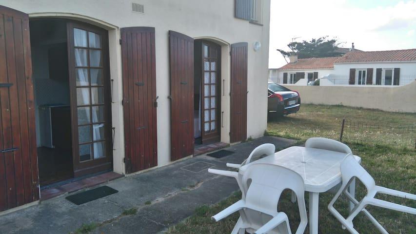 Studio près de la mer pour 3/4 personnes - Saint-Denis-d'Oléron - Lejlighed