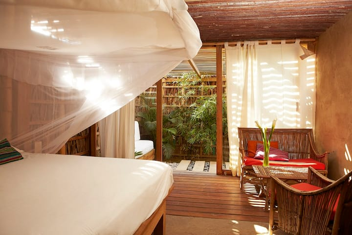 Matrimonial Room in an Ecolodge