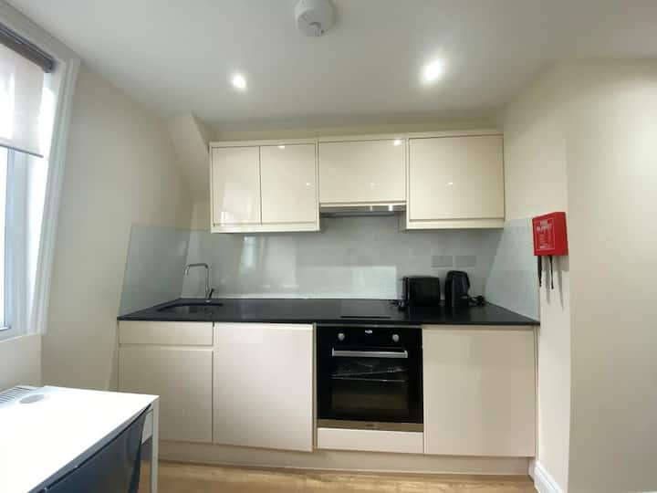 Modernistic Double Studio central London 6