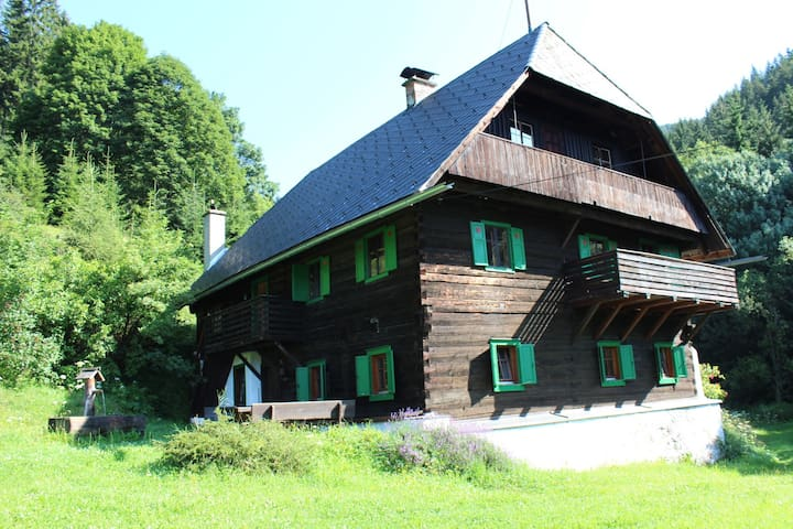 Quaint, authentic lodge in the Styrian mountains - Gemeinde Kraubath an der Mur - Chalet