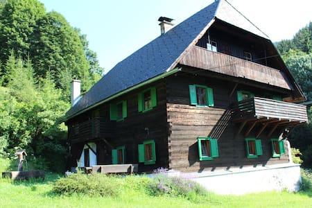 Quaint, authentic lodge in the Styrian mountains - Gemeinde Kraubath an der Mur - Alpstuga