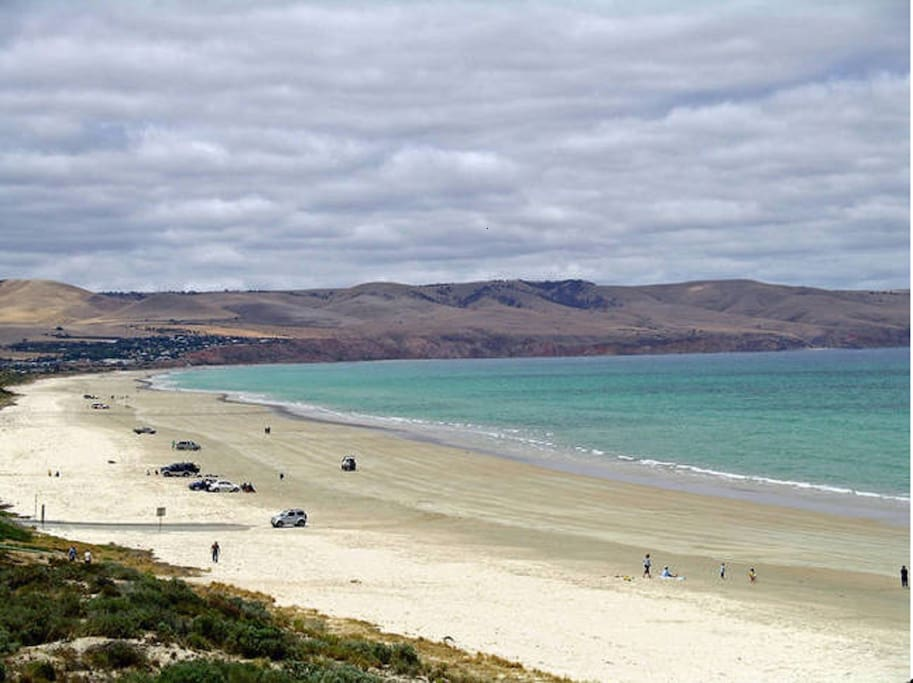 Magnificent Aldinga beach . South Australia's most popular beach( in both General and family Categories)