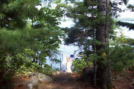 Private Island near Algonquin Park. - Golden Lake