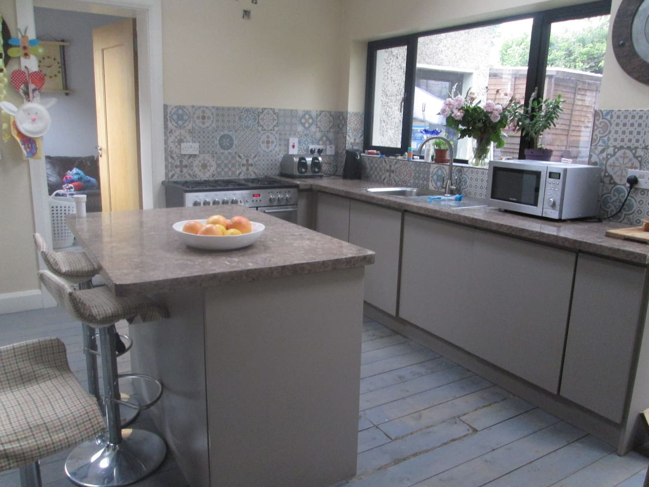 Modern Kitchen with Gas hob and electric oven