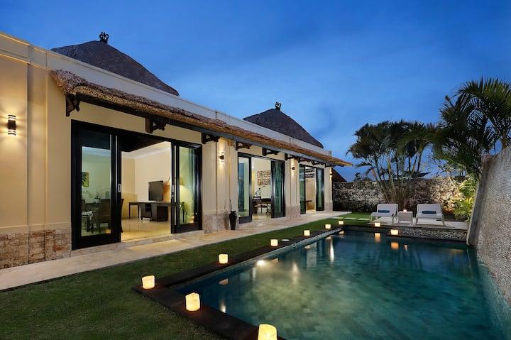 1 BR Romantic pool Villa| Near Karma Beach