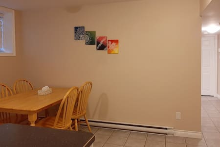 Minimalist basement suite with great location
