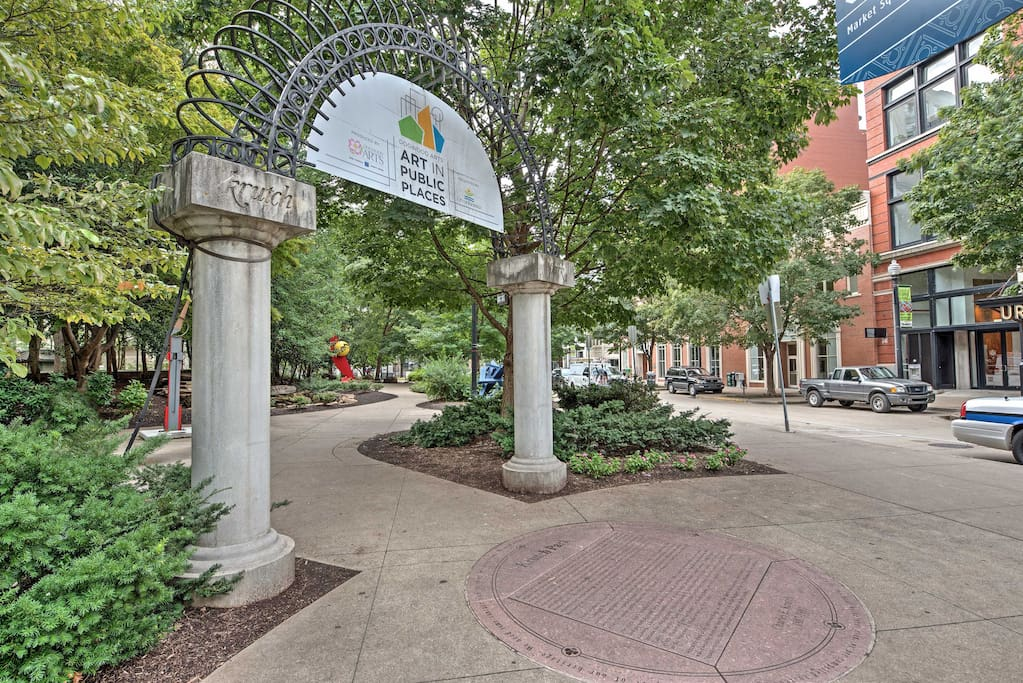 Spend the day exploring Market Square right outside your property!