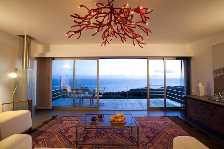 Arte da Fuga - vista com casa - Lajes Do Pico