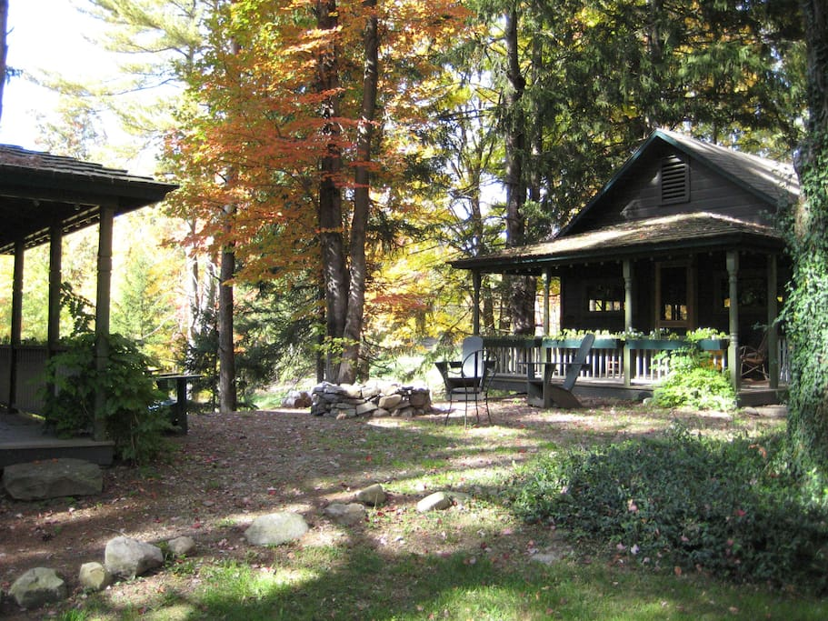 Cabin 2 cottages for rent in catskill for Deals gap cabin rentals
