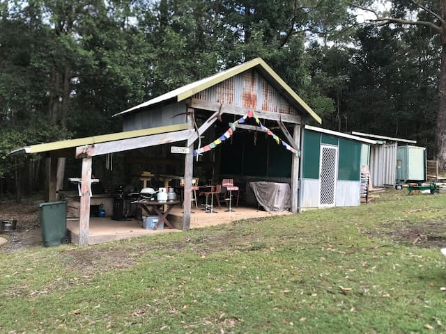 Camp kitchen/ BBQ area