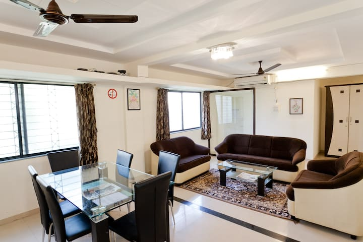 Attractive Price for Long Stay @ Service Apartment - Pimpri Chinchwad - 公寓