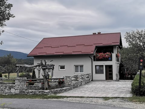 Apartment Kovač near Plitvice Lakes