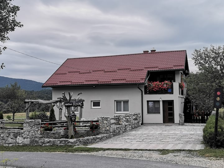 Apartment Kovač near Plitvice Lakes