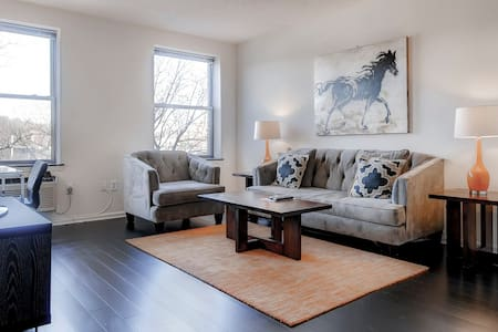 Lux Furnished 2BR Apartment in NJ! - Morristown - Wohnung