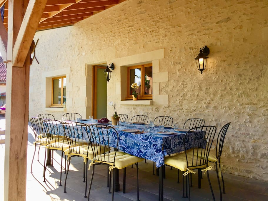 Garden veranda