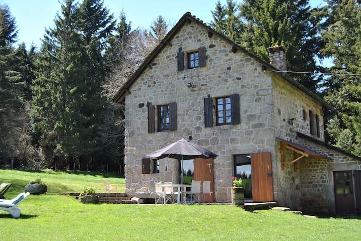 Maison indépendante, grand parc - Langogne