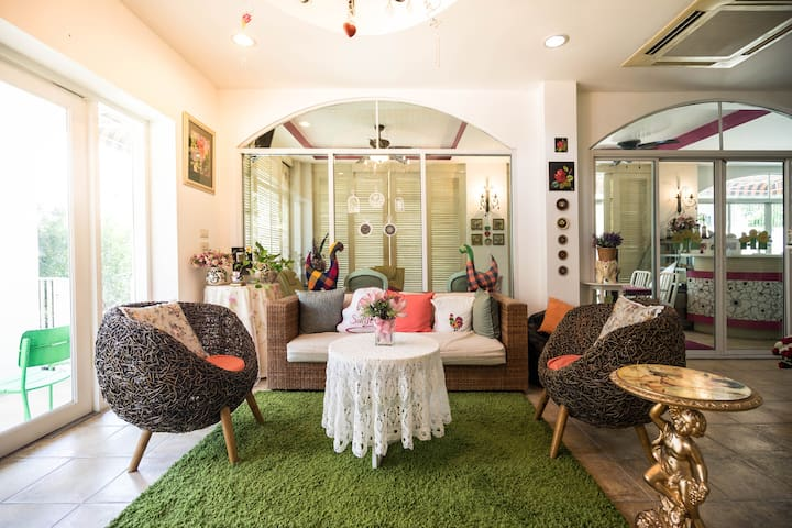 Superior Bedroom @ Nonthaburi nearby the River