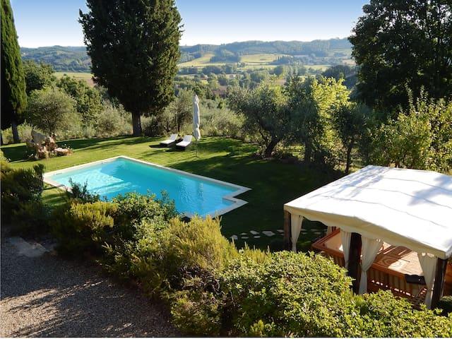 Country house pool, minispa to Siena,Montalcino