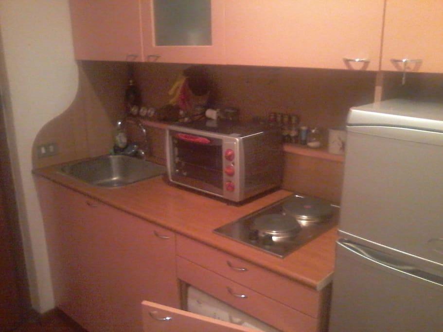 angolo cottura / little kitchen