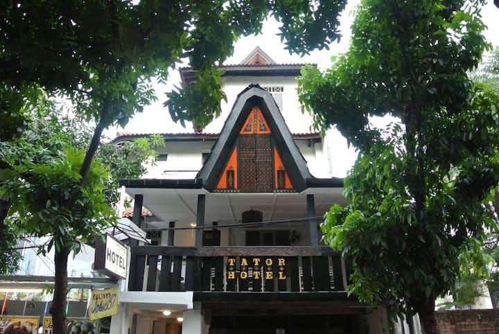 Tator Hotel @ Central of Jakarta (#202)