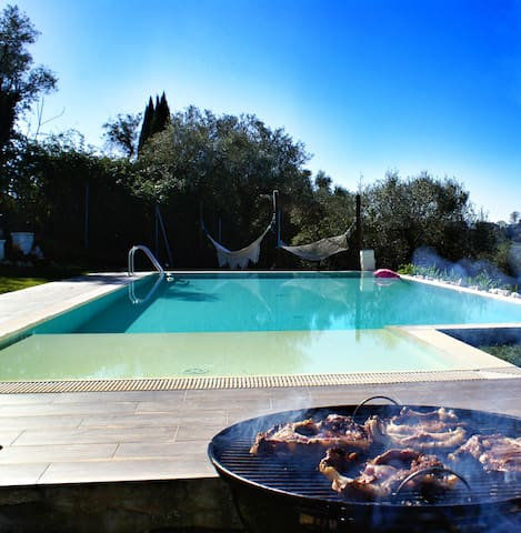 Villa Selci - Pool Villa near Rome (up to 8 p.) - Forano - Vila
