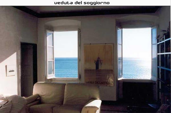 Amazing view on Genova's sea - Pieve Ligure - อพาร์ทเมนท์