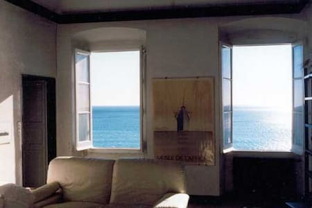 Amazing view on Genova's sea - Pieve Ligure - Lägenhet