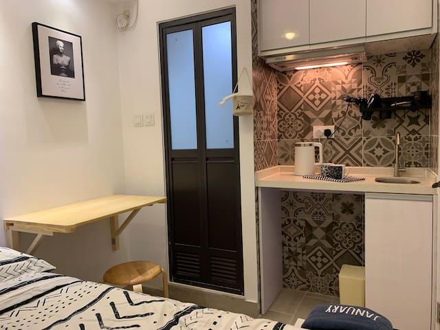 #A超讚房東♛佐敦實惠雙人公寓♛5分鐘到高鐵站☀8分鐘到機場快線