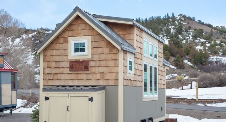 """Try on """"tiny living"""" in the Shady Creek Tiny Home"""