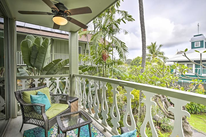 NEW! Tropical Kailua-Kona Escape - Steps to Beach!