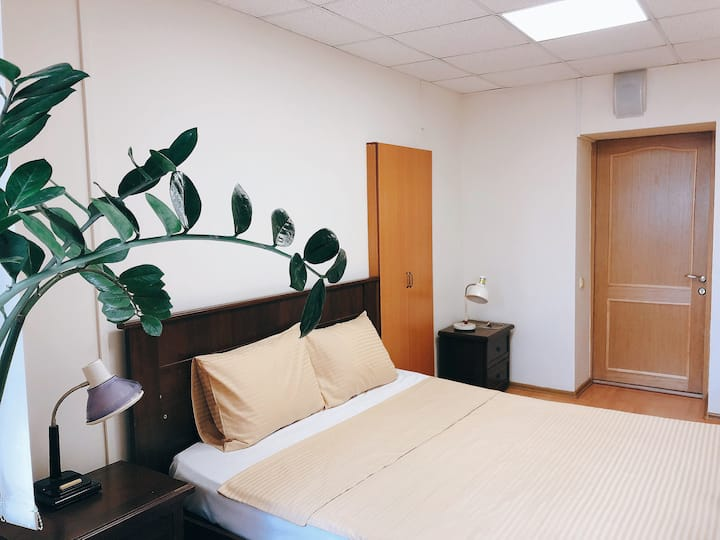 CITY PARK HOSTEL_Double bedroom for two