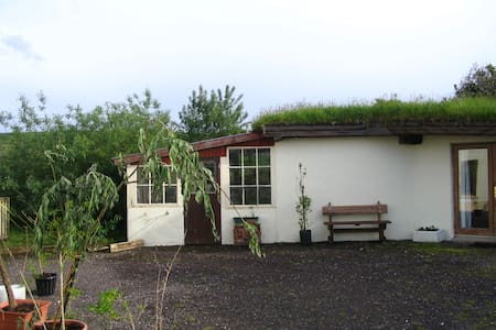 The Nest grass roofed eco-cottage - Dingle - Cabin
