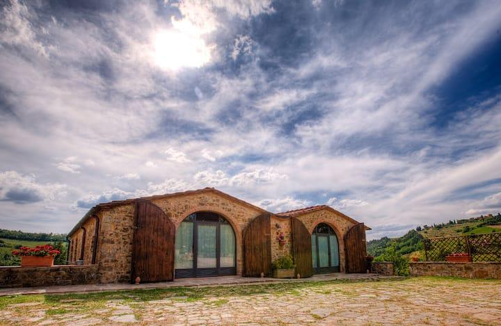 "Country house ""Il Fienile"" at Panzano in Chianti"