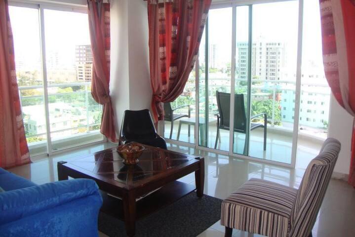 Modern Highrise, Ocean view Balcony - Santo Domingo - Appartement