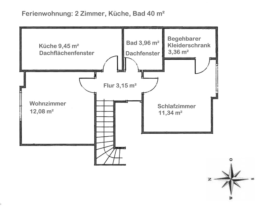 Grundriss/ footprint