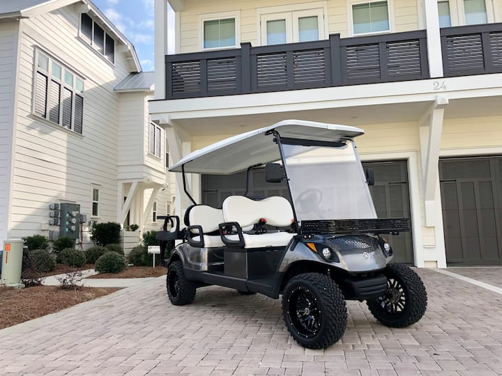 """Taste & Sea"" 3 Br Townhome, Golf Cart, Pool, Bikes, Prominence 30-A"