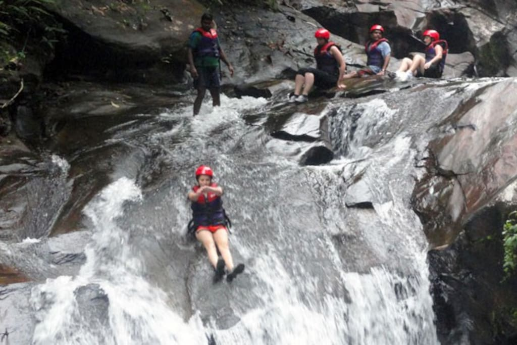 Canyoning - waterslides