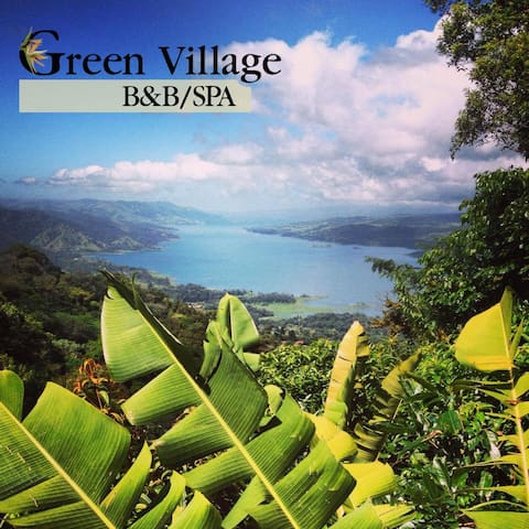 Full Villa rent/ Green Village - Lake Arenal