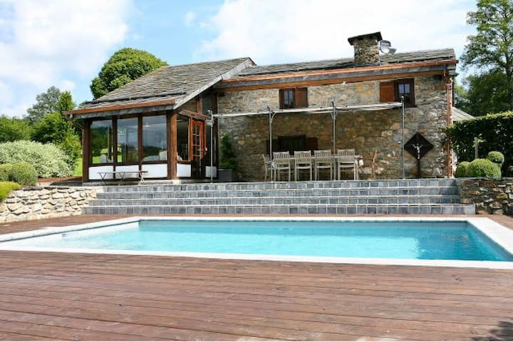 Villa Spineux **** pool + jacuzzi + sauna 9p+1 bby - Trois-Ponts - Casa de campo