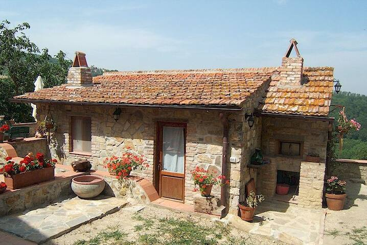Cottage for 2, indipendent building - Greve in Chianti - Bed & Breakfast