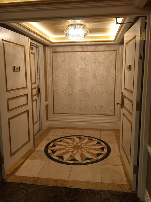 Presidential Suite Main Entrance