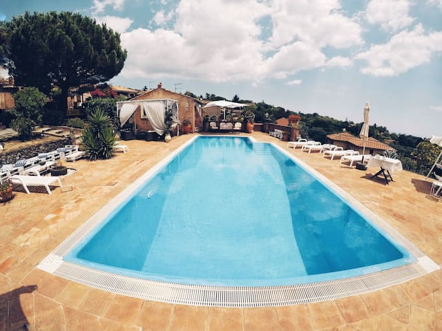 Panoramic Terrace with pool