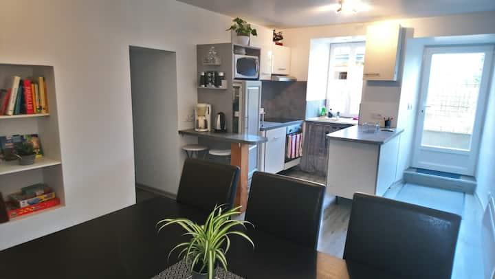 appartement indépendant T3 en rez de jardin