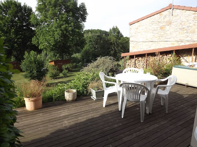 Agréable habitation en bord de Loire